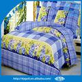 2015 venta al por mayor de moda de cama de algodón hojas