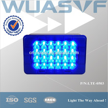 blue led flashing warning light for emergency cars