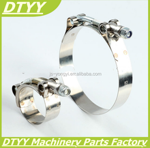 motocycle parts with 80-85mm SUS304 Stainless Steel Heavy Duty Robust Clamps