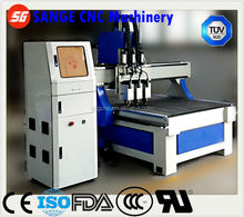 Top Quality Woodworking CNC Router Sange SG-1325-w3 with Best Price