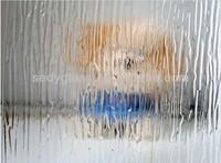 rain pattern glass sheet