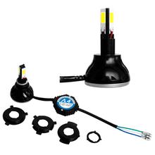 Motorcycle Conversion Headlight Kits H4 H7 LED Motorcycle headlight kit
