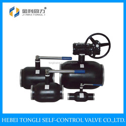 High Quality Gear Operated All Welded Ball Valve DN350