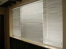 completed venetian blinds parts for home's and other buildings' bamboo aluminum venetian blinds slat by NOVO factory