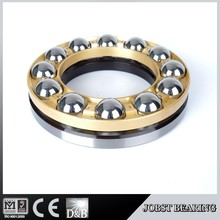 51320M Thrust Ball Bearing Chrome Steel material Brass Cage For machine tool spindl