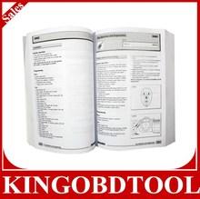 Original Good Paper key programming and service indicators book auto key programmer book
