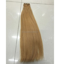 Blonde 613 Virgin Brazilian Human Weaving Natural Straight Body Wavy Blonde Hair