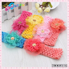 Handmade Lace Elastic Baby Headband