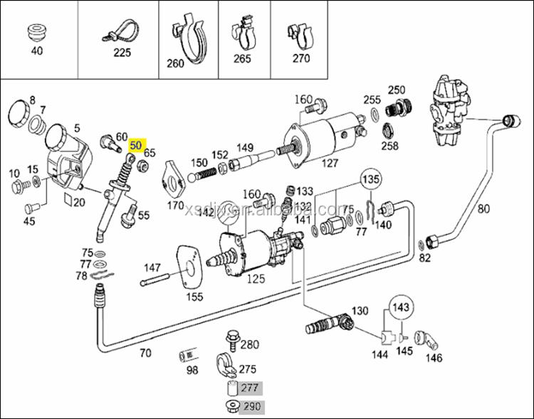 0022950206    002 295 0206 Clutch Master Cylinder For