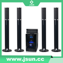 2015 new product usb music player long speaker home theater with bluetooth