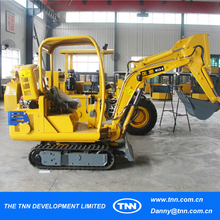 #10-3 Canopy one unit moq Small garden excavator 800kg ISO certificate