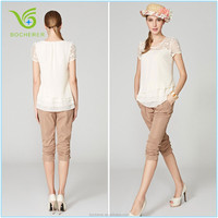 Top fashion trendy fancy woman lady girl casual design blouse