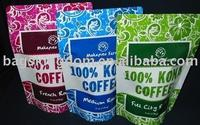 Plastic standing doy pack bag/pouch industrial food packaging