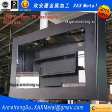 """XAX1076TVE exterior IP66 IP67 stainless steel 74"""" 74 inch electronic marquee sign Advertising display"""