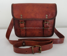 Factory direct Outdoor Sports fashion vintage leather Camera Bag