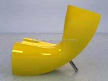 Unique Fiberglass antique glider rocking chair