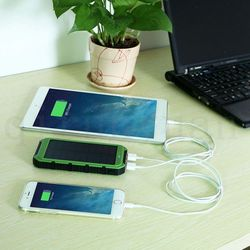 Bery cheap mini solar portable dual usb car charger