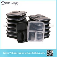 Bento Lunch Box with Dividers,3 compartment plastic food container