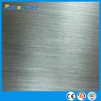 201 hairline surface stainless steel sheet
