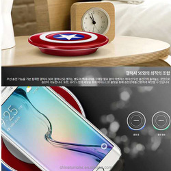 New products 2015 best selling mobile phone accessories QI wireless charger