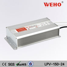 Good quality constant voltage 24 dc power supply ac led driver 150w