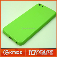 Wholesale top quality 5 colors for iphone 5c back cover housing replacement