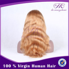 Popular Items New Long Vogue Blonde Fashion Wavy Hair Wig With Baby Hair