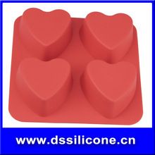 2015 top product silicone rubber chocolate mould/Muffin Cases/Pan/Cups/Mould