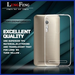 2015 new high quality wholesale zenfone 2 phone case ultra-thin tpu case Cover case for asus zenfone 2