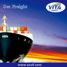 Shenzhen sea freight forwarder to Dammam,SA