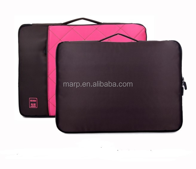 2014 Business laptop bag computer bag polyester laptop bag_black color