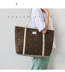 2015 Hot Selling Canvas Casual Tote Handbag bag
