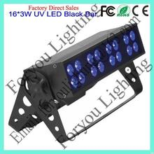 Good quality new style bar 16*3w led wall washer