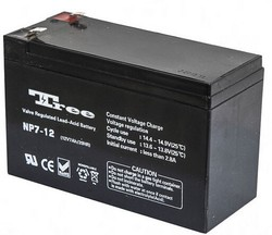 manufacturer ups battery 12V 7ah rechargeable lead acid battery used Emergence light and security system