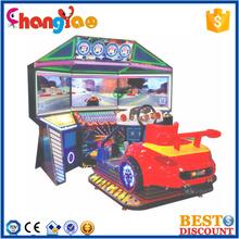 3 Screens Arcade Racing Car Game Machine 4D Simulator Dynamic Racing