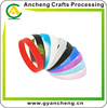 dont deformation fluorescent silicone wrist bracelets forpromotional products