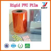 100% store wrap manufacturer pvc transparent sheet for stantionary bags iridescent plastic film