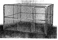 the wire mesh dog fence