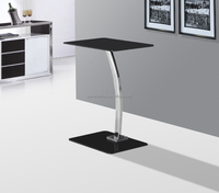 Cheap tempered glass computer table laptop table