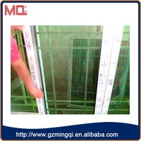 High quality well design pvc house window grill design