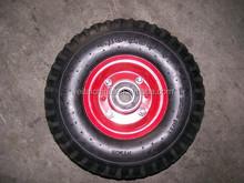 10' Top Quality Colorful Tyre PU Foam Wheel for Wheelbarrow(3.50-4)