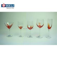 handmade glass ware/drinking glass/goblet