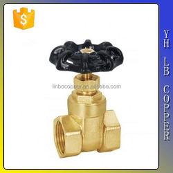 China supplier 200WOG brass gate valve LINBO-C14