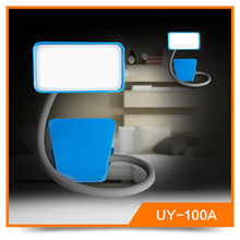 Hot UY-100A 3.6w USB Touch Adjustable Simple Style Led Bed Head Reading Light