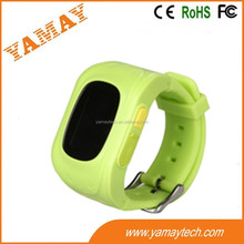 smallest size wrist watch GPS & LBS location gps tracker kids with longest standby-Caref watch