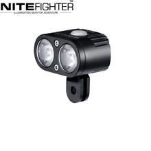 Nitefighter BT21 Aircraft Aluminum LED Bike Light Impact Resistant Bike Lights LED Bicycle Headlamp