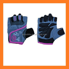 Fashion Gym Weightlifting Workout Gloves Leather Pink Ladies Sport Gloves