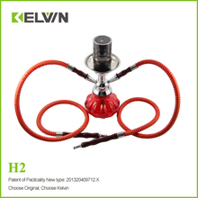 Plain color glazed indoor Resin Hookah