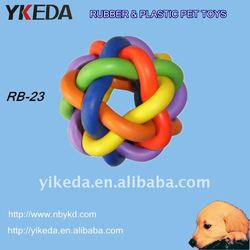 Dog toys Beautiful rubber foot bags