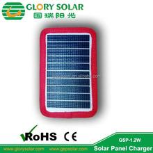 Custom Design ETFE 1.2W 5V Solar Panel For Jacket Mobile Phone Power Bank Small Solar Panel Charger
